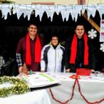 SPD/offene Liste waren beim Adventsmarkt wieder mit einem Stand vertreten.