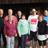 Die Mitglieder des SPD-Ortsvereins feierten ihr Sommerfest.