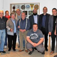 Der Falkenförderkreis würdigte langjährige Mitglieder.