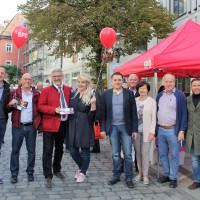 Die SPD kämpft um jede Stimme.