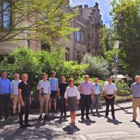 Die SPD-Kreistagsfraktion aus dem Landkreis Bamberg hielt ihre Klausur in Coburg ab.